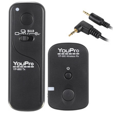 YouPro YP-860 E3 2.4G Wireless Remote Control Shutter Release Transmitter Receiver 16 Channels for Canon Pentax DSLR Cameras