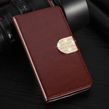 Phone Cases For Samsung GALAXY SII I9100 S2 Case Leather Wallet Stand Card Holder Phone Cover Holster(China)