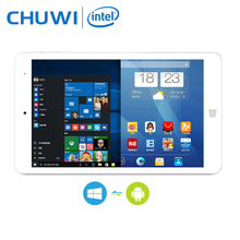 CHUWI Hi8 Pro Dual OS Tablet PC Windows 10 Android 5.1 Intel Atom Cherry Z8350 Quad core 2GB RAM 32GB RAM 1920x1200 Type-C HDMI