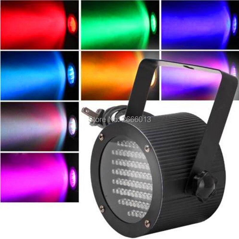 86pcs LEDs Flat LED Par light 25W RGB Disco Wedding party Lamp Mini stage lights Mixed color LED dyed wash light dmx controller <br>