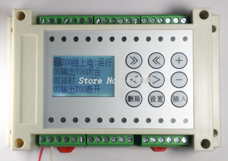 8 way programmable logic controller PLC one machine solenoid valve / cylinder / cylinder / delay / logic controller(China)