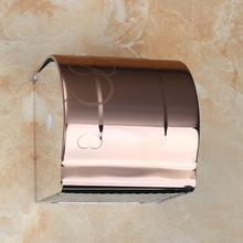 Hot Sale Luxury Square Antique Copper NEW Stainless Steel  Bathroom Toilet Paper Holder Tissue Box