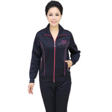 New 2017 women fashion tracksuits,lady clothing set,casual sportwear,plus size tracksuit XL-4XL,mother day gift MA298