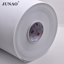 JUNAO 10 Meter 24cm Width Hot Fix Rhinestone Paper Heat Transfer Mylar Tape Iron On Crystals Paper For Making Rhinestone Motif(China)