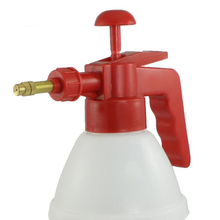 PHFU Red Handle White Body Plastic Water Spray Bottle Pressurized Sprayer