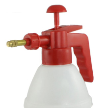 PHFU Red Handle White Body Plastic Water Spray Bottle Pressurized Sprayer(China)