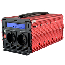 Peak 4000W Rated 2000W LCD off grid inverter 12V 220V modified sine wave power inverter(China)