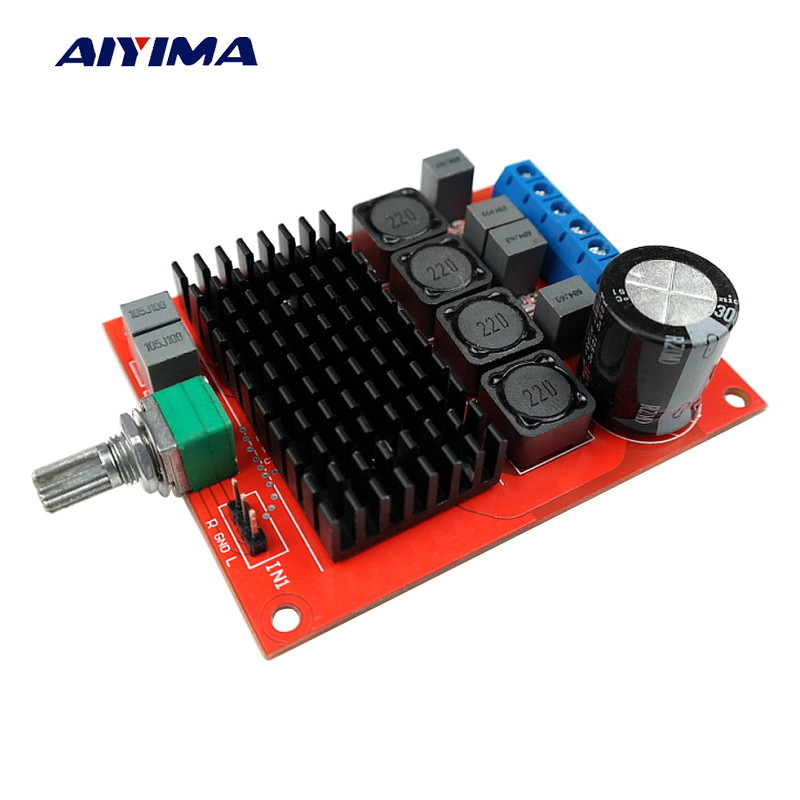 Aiyima TPA3116 Dual Channel Digital Amplifier Board 50W+50W DIY Sound System Speaker Home Theater