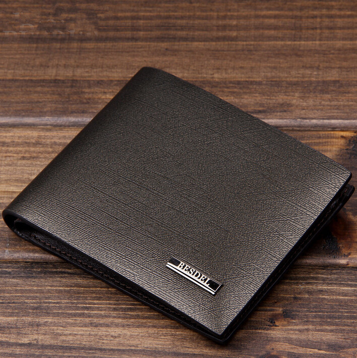 2015 Famous Brand Men Wallets Luxury Men Cowhide Wallet Fashion Designer Purses Business Style Genuine Leather Wallet For Men<br><br>Aliexpress