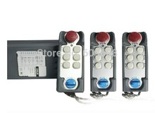 Hoist Switch Industrial Remote control with Emergency 3Transmitter+1Receiver