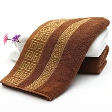 Wholesale 32*72cm high quality luxury brand towel face hand toallero toalha super soft 100% cotton men face washcloth