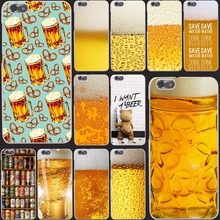The Iced A Glass of Beer Summer Bubble phone Hard Case Cover for Huawei P6 P7 P8 P9 10 Lite Plus & Honor 6 7 4C 4X G7 8 lite(China)