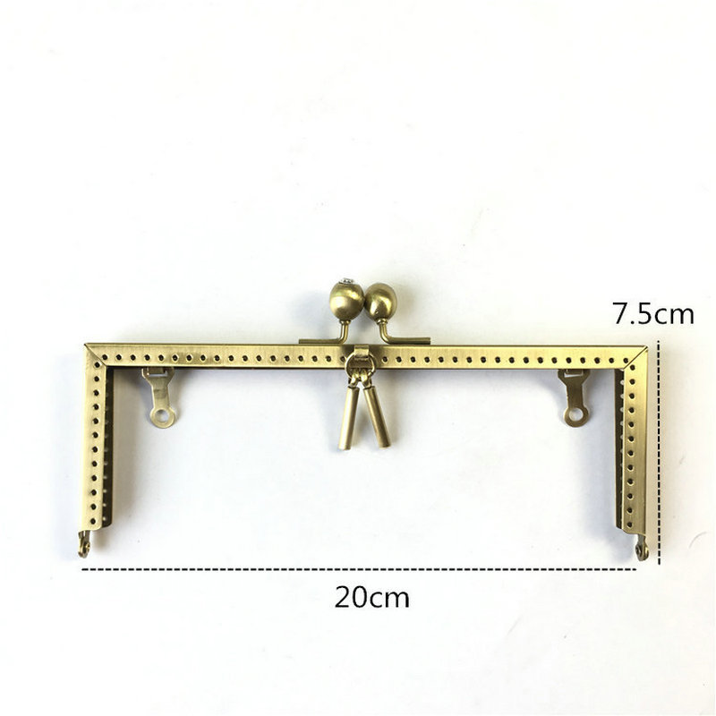 20-S-BS-ZS Bag clasp handbag handle frame  (9)