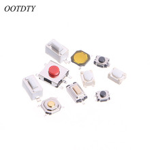 OOTDTY 250Pcs 10 Types Tactile Push Button Touch Switch Remote Keys Button Microswitch(China)
