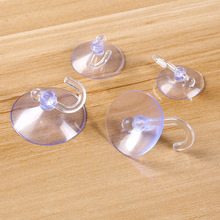 5 Pieces transparent air sucker clothes hook loop towel hanger bag pothook bathroom ropa tendida kleren opknoping hang tool 8cm