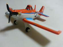 Pixar Planes No.7 Dusty Crophopper Metal Diecast Toy Plane 1:55 Loose New In Stock & Free Shipping