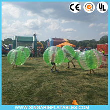 Free shipping 0.7mm TPU 1.2m diameter giant inflatable ball,bubble zorbs,bubble soccer,bumper ball for kids(China)