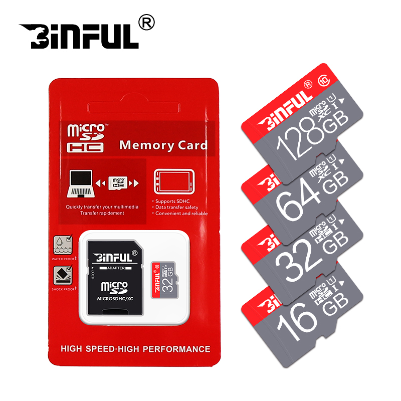 High Speed 4GB 8GB 16GB Memory card 64GB Micro SD Card 32GB MicroSD Card Cartao De Memoia SDHC/SDXC tf card with adapter(China)