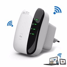 WR03 Wireless WiFi RepeaterN 802.11N/B/G WPS 2.4G 300Mbps Network for AP Router Range Signal Expander Booster Extend Amplifier
