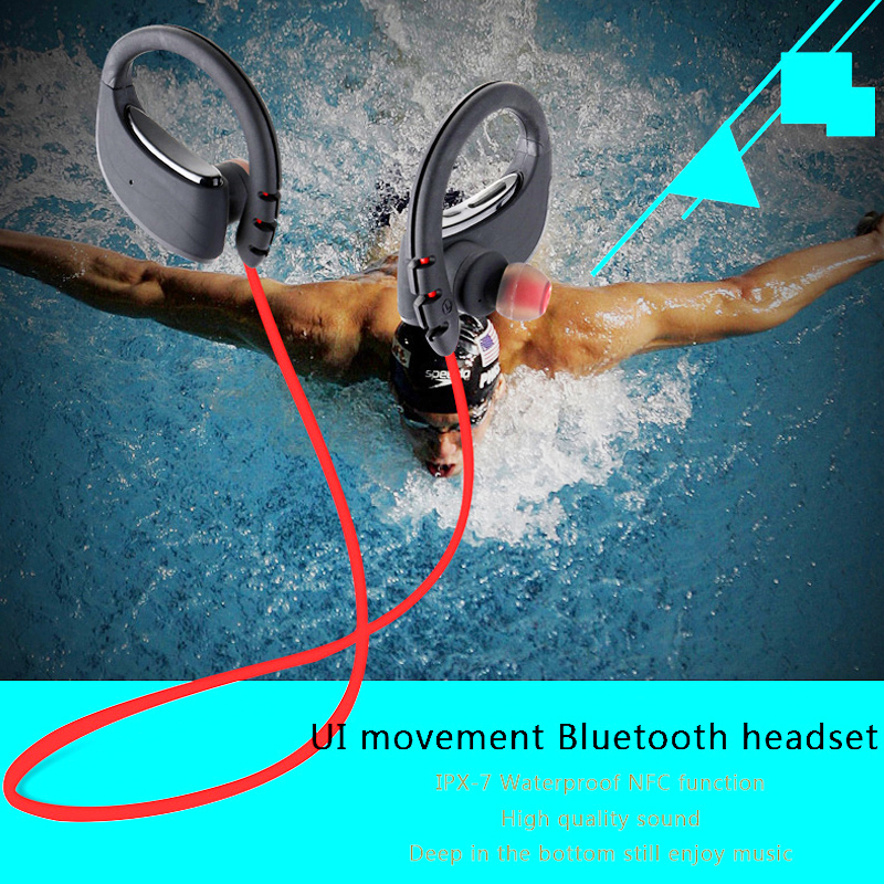 JINCOR U1 Sport Bluetooth Headset Wireless Waterproof Microphone Swimming DSP Noise Reduction Music auriculares Headphone PK P10<br>