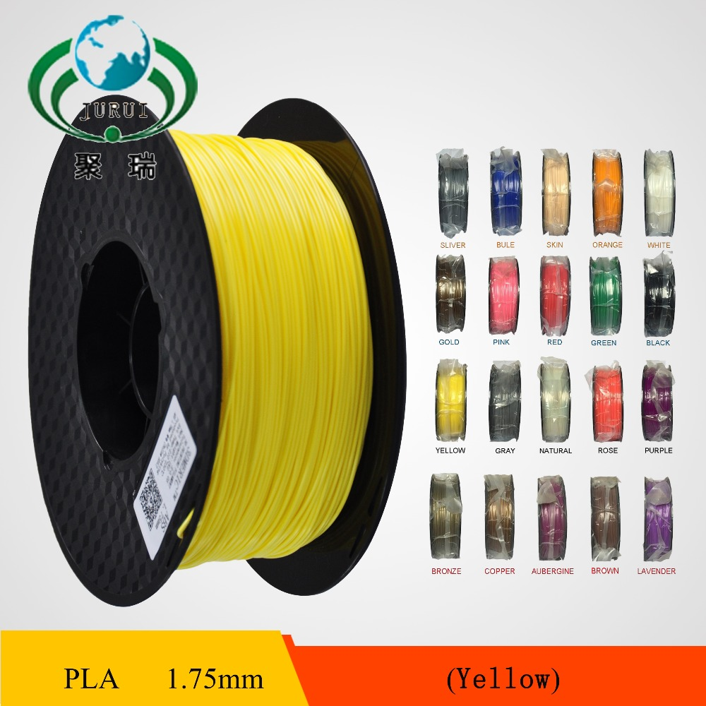 High Quality 3D Printer Filaments plastic Rubber Consumables Material, ROHS certified ,1.75/3mm ABS / PLA Optional<br><br>Aliexpress