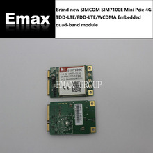 SIM7100E SIMCOM MINI PCIE low cost 4G LTE-FDD/LTE-TDD module pin to pin SIM5320 support GPS GNSS USB Voice 100% New Original