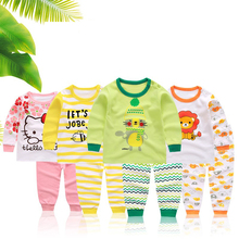 2018 Promotion 100% Cotton Baby Set Baby Girl Clothes Hello Kitty Newborn Boy Clothing Suit Outfits(China)