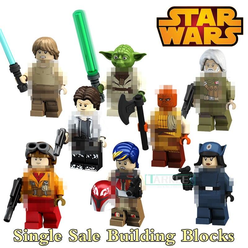 Single Sale Star Wars Han Solo Luke Skywalker Rebel Pilots Sabine Wren  Special Offer Building Blocks f26a77383333