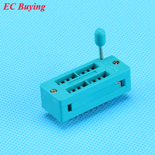 1PCS 16 Pins ZIP IC Socket  Narrow DIP Universal Test Socket 16P