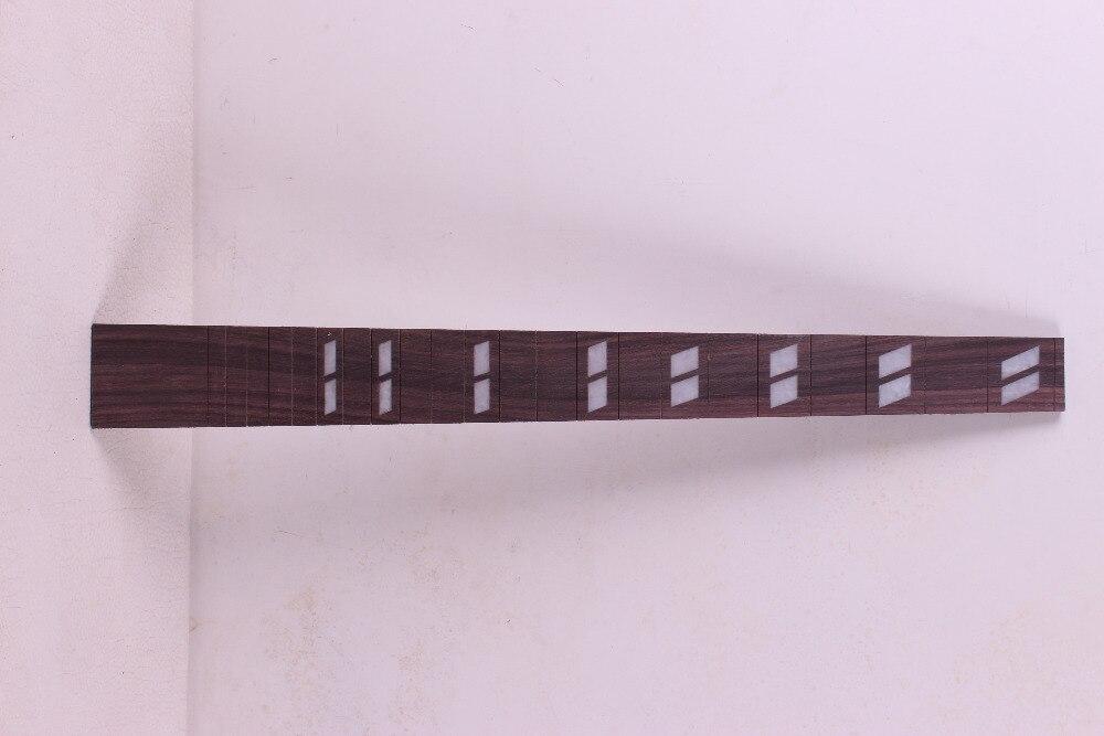 2pcs Guitar Fretboard Fingerboard Fretless Guitar parts Dot inlaid Maple wood #51<br><br>Aliexpress