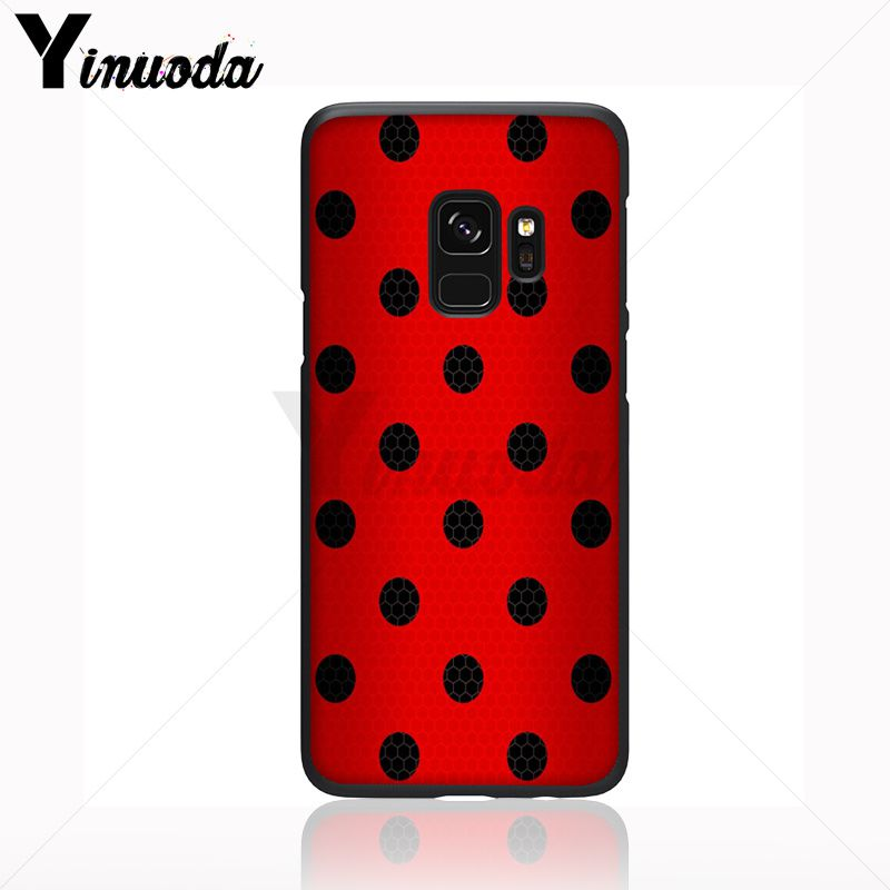 Red Black Gold Polka dots Dot