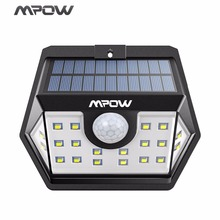 Buy Mpow 20 LED Solar Light Super Bright Security Lights Waterproof Lamps Sensitive PIR Motion Sensor Garden/Garage/Pathway for $15.33 in AliExpress store