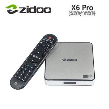 [Genuine] Zidoo X6 Pro Android 5.1 Lollipop TV Box RK3368 Octa Core 2G/16G Gigabit LAN Dual Wifi  BT4.0 HDMI2.0 4K*2K H.265 KODI
