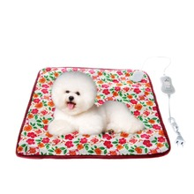 40*40cm 220V Warm Pet Cat Dog Electric Heated Heating Pad Mat Blanket Bed #X109Q#