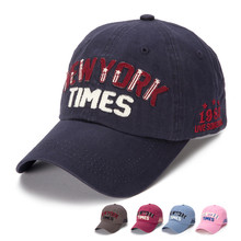 2017 Summer Baseball Cap Fashion NEWYORK TIMES Letters Printing Adjustable Strapback Hats casquette femme sporting