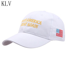 "KLV Hot Print Letters ""Make America Great Again""Hat Donald Trump Republican Hat Cap  For Men Women Adjustable  Baseball caps"