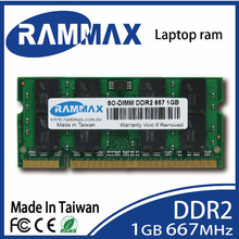 sale Brand New sealed Laptop Memory Ram 1GB DDR2 SO-DIMM 667Mhz (PC2-5300 200-pin/CL5/1.8v) highly match all brand motherboards