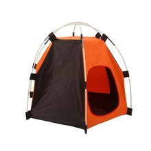 Foldable Hexagonal Pet Dog Tent Detachable Waterproof and Rainproof Pet House Outdoor Camping Travel Dog Cat Tent(China)