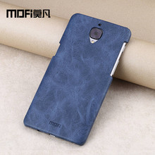 Oneplus 3 case MOFi Oneplus 3 case cover One Plus 3 A3000 case back cover leather capa OnePlus 3t phone cases 3T 3 t TPU 64gb