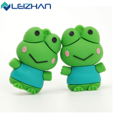 LEIZHAN USB Flash Drive Cartoon Animal Frog Pen drive 32GB Memory Stick USB2.0 64GB Pendrive 16GB U Disk 4GB 8GB Memory Drive