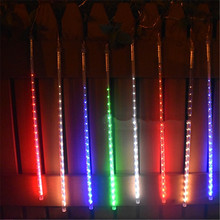 10 Tubes LED Solar String Light Outdoor Garden Landscape Holiday Christmas New Year Wedding Decorative Lamps Waterproof Lights(China)