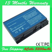 50L6 6 Cells 5200MAH Battery replacement for Acer Aspire BATBL50L6 3100 Series Aspire 3100 3102 5100.5102 3650.3690