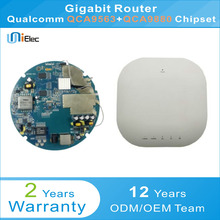 Qualcomm QCA9563 and QCA9880 Business AP Router Firewall Gigabit WIFI POE at af PCBA ODM OEM Custom Board(China)
