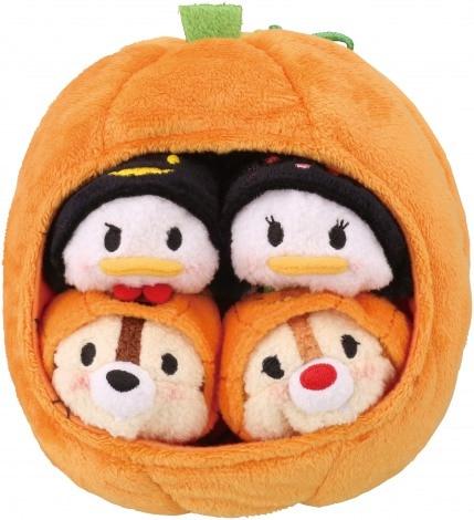 10sets/lot 3.5 Tsum Tsum Halloween Pumpkin set Plush Toy Screen Cleaner for iPhone<br><br>Aliexpress