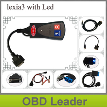 Promotion Newly diagbox V7.56 with LED cable Professional Diagnostic Tool PP2000 Lexia 3 original V47 Lexia3 pp2000 Free ship
