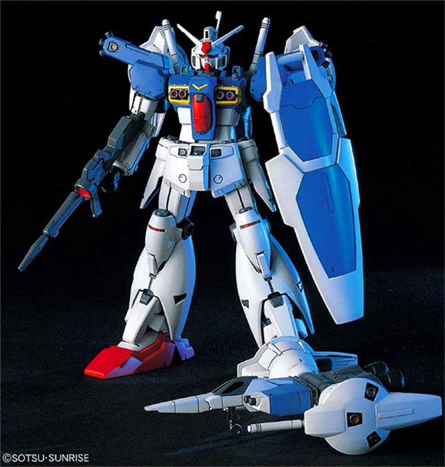 1PCS-Bandai-HGUC-18-RX-78GP01FB-Gundam-GP01FB-Mobile-Suit-Assembly-Model-Kits-lbx-toys-education