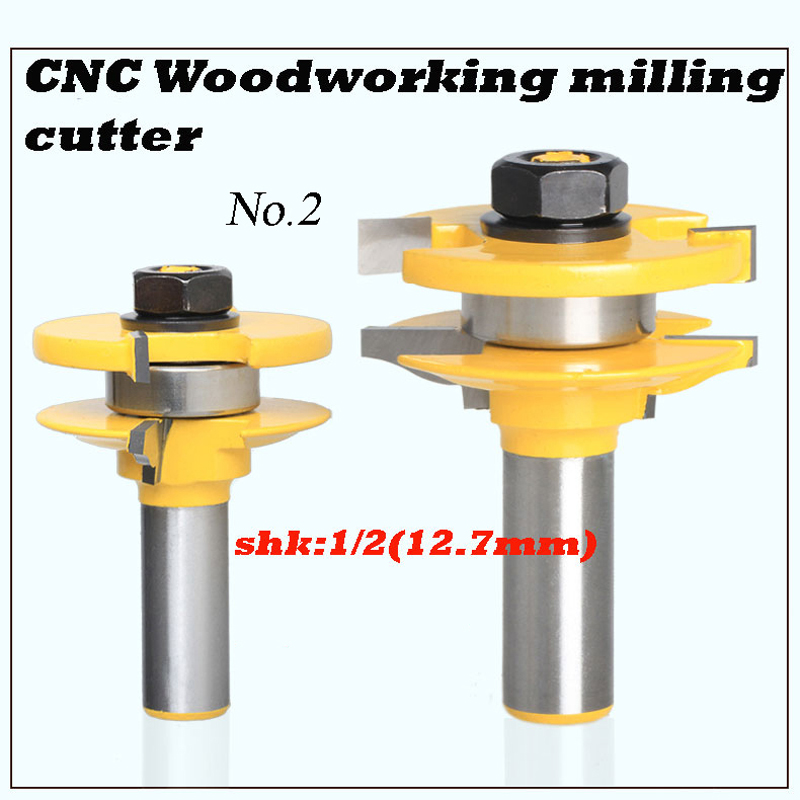 2pcs engraving machine tools wood slotting  router bits woodworking cutter<br><br>Aliexpress