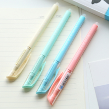 Q South Korea stationery friction easy to wipe erasable pen 0.5mm Macarons color students water pen