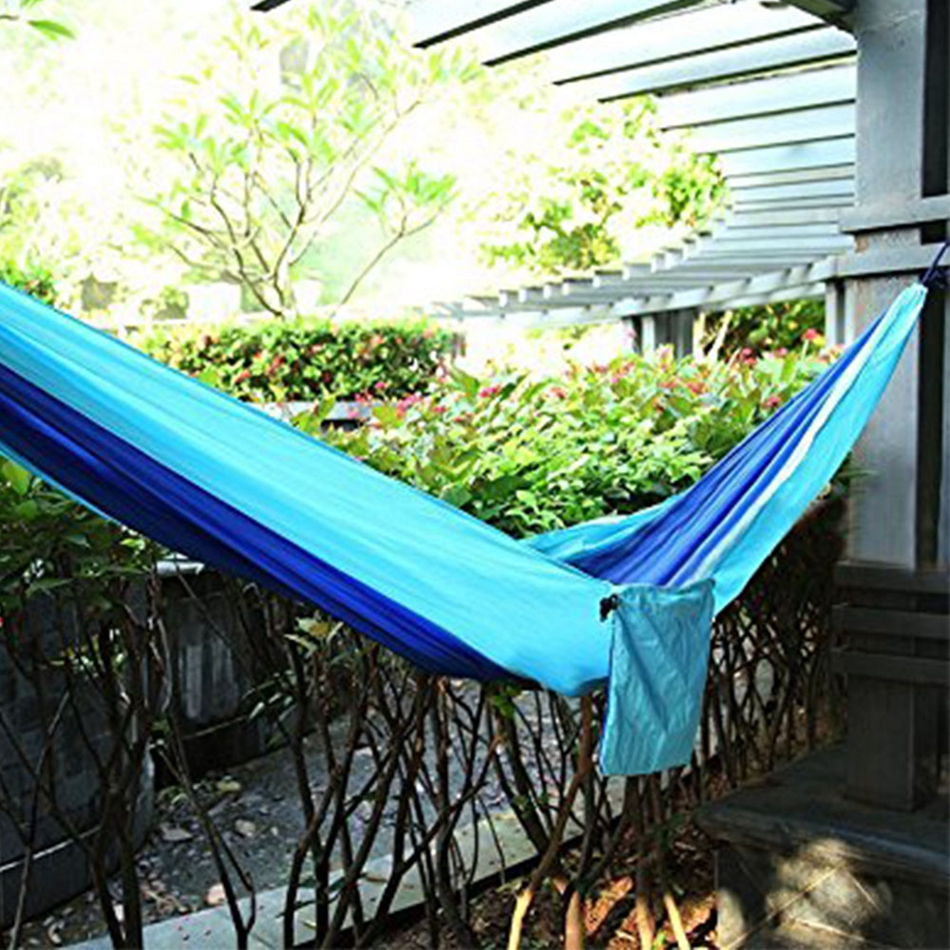 KAPOO portable parachute cloth hammock outdoor furniture camping chair swing swing hammock backpack travel bed dormitory leisure 6