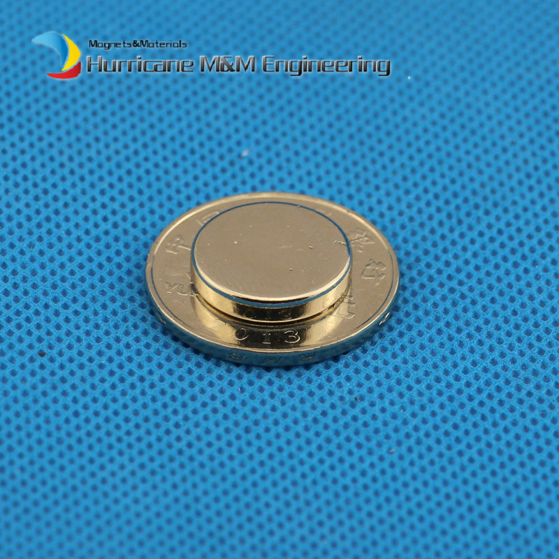 1Pack NdFeB Magnet Disc Dia 15.87x3.18 mm N42  5/8x1/8 Strong Neodymium Magnets Rare Earth Magnets Sensor magnets<br>